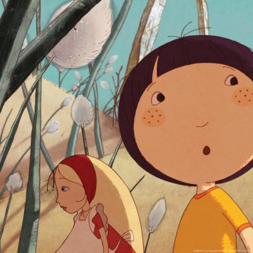 Piccolo mondo tv u pagina u cartoni animati per bambini